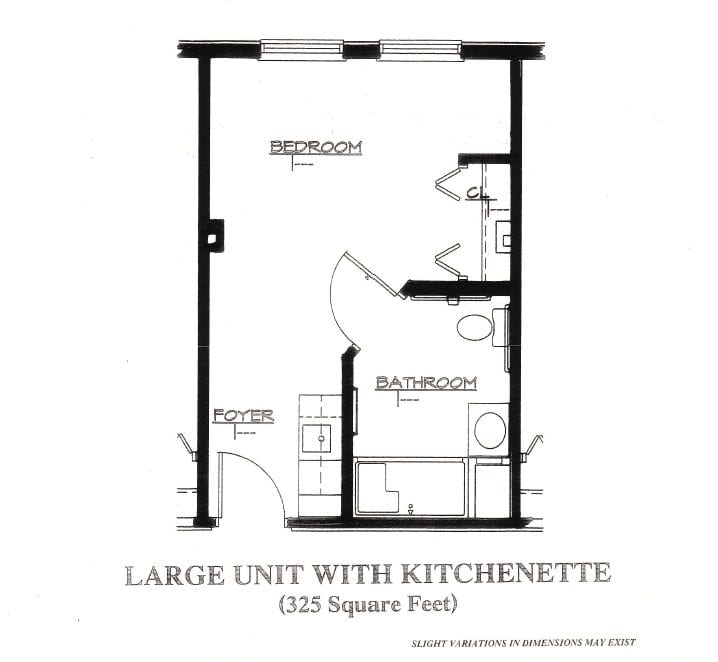 Large Unit with Kitchenette